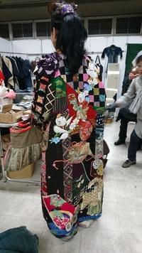 京都 大アンティークフェア 2 - 古布や麻の葉