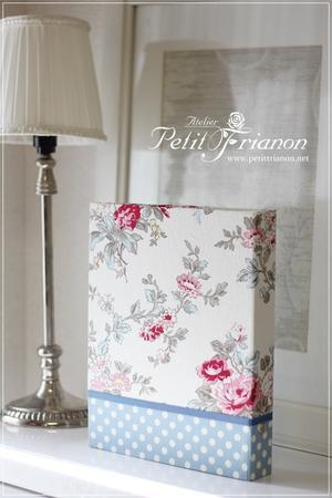 生徒さんの作品 2017.Mar.⑦ - Atelier Petit Trianon   *** cartonnage & interior ***