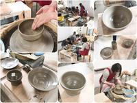 本日の陶芸教室 Vol.623、624 - 陶工房スタジオ ル・ポット