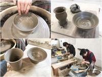 本日の陶芸教室 Vol.620 - 陶工房スタジオ ル・ポット