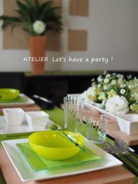 「3月のテーブルコーディネート&おもてなし料理レッスン」全日程終了しました♪ - ATELIER Let's have a party ! (アトリエレッツハブアパーティー)         テーブルコーディネート&おもてなし料理教室