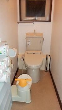 トイレのストレス 補助便座の置き場所 - インテリア今昔 築33年