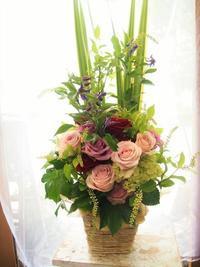春のお花を楽しむのは今のうちに。 - ルーシュの花仕事