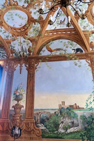 壁画美しお屋敷訪問、ペルージャ - ペルージャ イタリア語・日本語教師 なおこのブログ - Fotoblog da Perugia