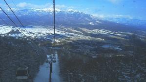 雪降った 入笠山で スノーシュー - ピースケさんのお留守ばん
