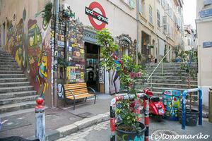 マルセイユで見つけた素敵な街角アートたち - パリときどきバブー  from Paris France