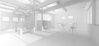 3D work04/木の葉 - Den設計室 一級建築士事務所