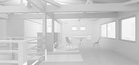 3D work05/木の葉 - Den設計室 一級建築士事務所