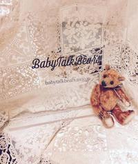 "Working progress ~新しいベアたち - Soyo of ""Baby Talk Bears"""