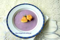 紫芋のスープ - 天使と一緒に幸せごはん