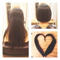ヘアドネーションにご協力頂いたY様! - 東京都荒川区にある尾久駅前の美容室 WEST HAIR DESIGNのブログ