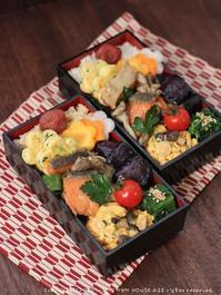 鮭と舞茸のエスカベッシュ ✿ チキンとひよこ豆のスパイシーカレー(๑¯﹃¯๑)♪ - **  mana's Kitchen **