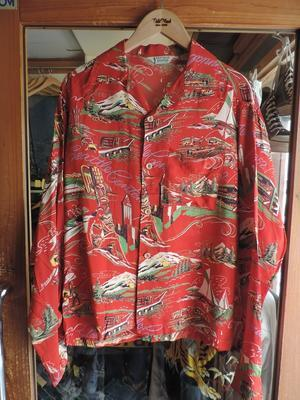 L/S HAWAIIAN SHIRT - TideMark(タイドマーク) Vintage&ImportClothing