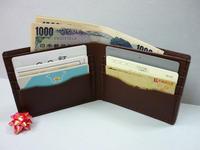 小銭は別に・・財布(旅立ちの補充です) - 手縫い革小物 paddy の作品箱