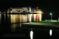 那智勝浦漁港夜景 - みちはた写真館フォトギャラリー