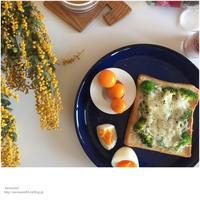 ドライミモザと朝ごパン - Awesome!