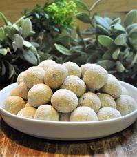 マクロビメープルスノーボールクッキー - ミルクムーン