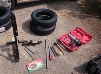 日産モコのサマータイヤを手組する(使用道具) - ~Day after day~