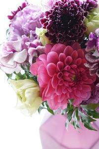 艶やかに、のびやかに♪ - お花に囲まれて