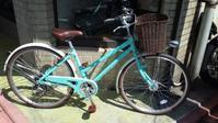 かわいいシティサイクルできました! - 大岡山の自転車屋TOMBOCYCLEのblog