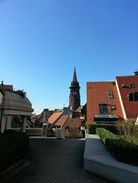 青空に映えるミュンスター(大聖堂) - ドイツの優しい暮らし Part 2