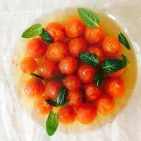 トマトのミントシロップ - 福岡で自家製酵母のパン教室をはじめました/ Danchi ダンチ