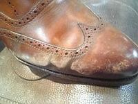塩浮き・銀浮・型崩れ  - ルクアイーレ イセタンメンズスタイル シューケア&リペア工房<紳士靴・婦人靴のケア&修理>