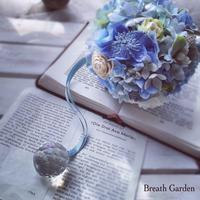透明感のあるブルーアレンジ - 花雑貨店 Breath Garden *kiko's  diary*