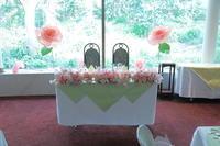 春の装花 広尾のレストランシェモルチェ様へ  - 一会 ウエディングの花