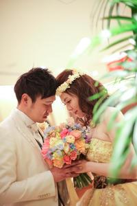 新郎新婦様からのメール アルカンシェルの花嫁様より 結婚式の思い出、それはブーケと感謝と幸せ - 一会 ウエディングの花