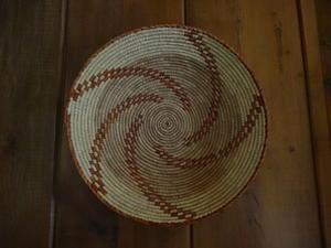 アリゾナ旅行記その5ホピ族のカラフルなバスケット - 手染めと糸のワークショップ