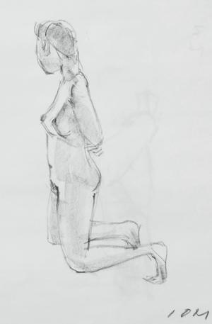 裸婦クロッキー -