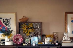 部屋のあちこちにミモザを飾りましょう♪ - Reon&Roses+Lara