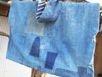 身幅(?)は67cm、着丈は49cmで有るだけの布でようやく・・ - 藍ちくちく日記