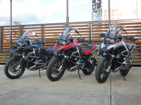 新型アドベンチャー揃踏み - motorrad kyoto staff blog