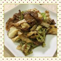 キャベツと豚肉の甘辛味噌炒め(レシピ付) - kajuの■今日のお料理・簡単レシピ■