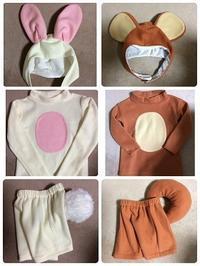 ウサギ&リス - hiroの縫製部屋