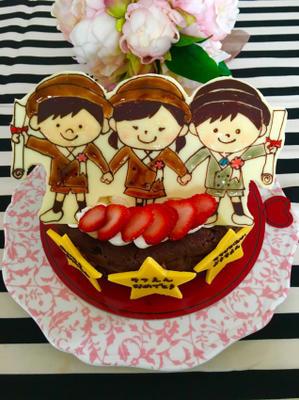 卒園祝いケーキと、双子ちゃんのバースデーケーキ☆ - HAPPY FIELD