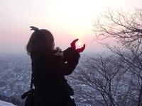 2017年3月15日(水)太陽遊び。 - 山登リィタ。