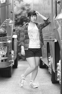 桜田千夏ちゃん9 - モノクロポートレート写真館
