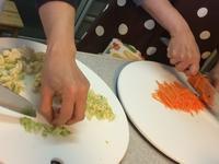 昨日の料理教室のこと・・・3/28 - vegechi