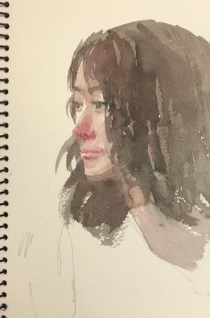 3月 - 赤坂孝史の水彩画