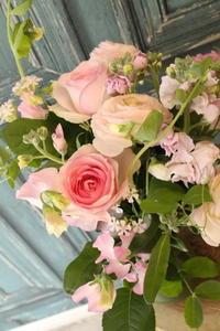 ピアノの発表会の花束 - 北赤羽花屋ソレイユの日々の花