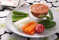万能調味料!トマト味噌で野菜ディップ - cafeごはん。ときどきおやつ