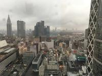 ある日の新宿高層ビルの上 - BLOWIN' IN THE WIND
