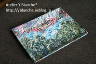 美しいトレイ*絵葉書風に - カルトナージュ Atelier Y_Blanche*