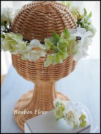 花冠&ブレスレット - Bonbon Fleur ~ Jours heureux  コサージュ&和装髪飾りボンボン・フルール
