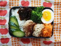 3/29(水)おからハンバーグ弁当 - ぬま食堂