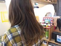 明るい白髪染め - fuwafuwa!hair salon