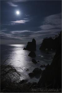 月光の北山崎 - 遥かなる月光の旅